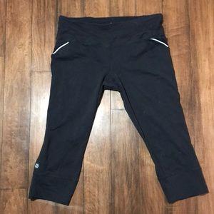 Athleta Black Capri leggings